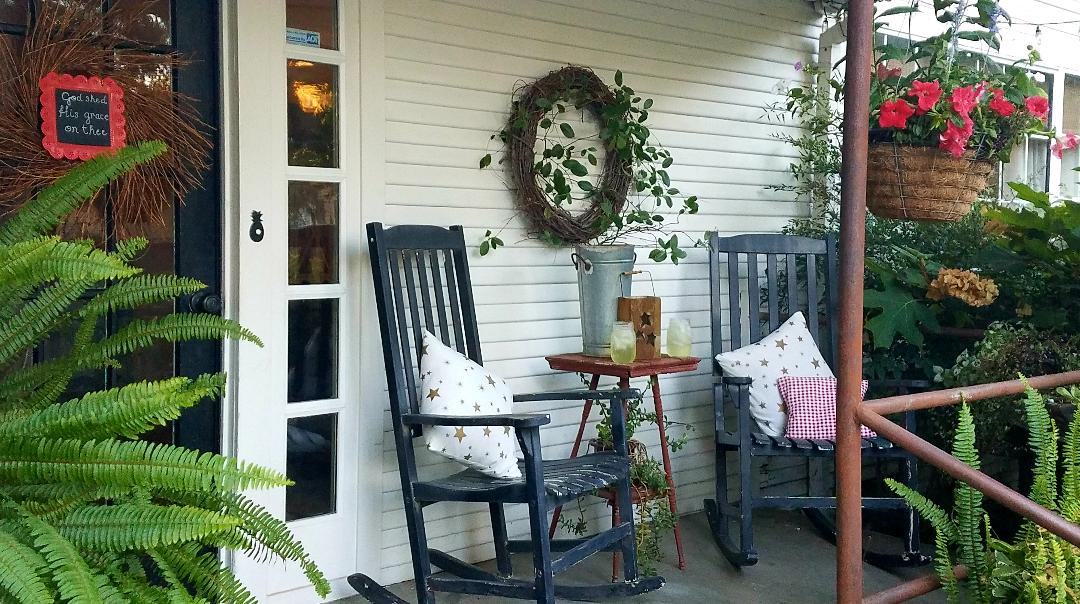 A SUMMER FRONT PORCH