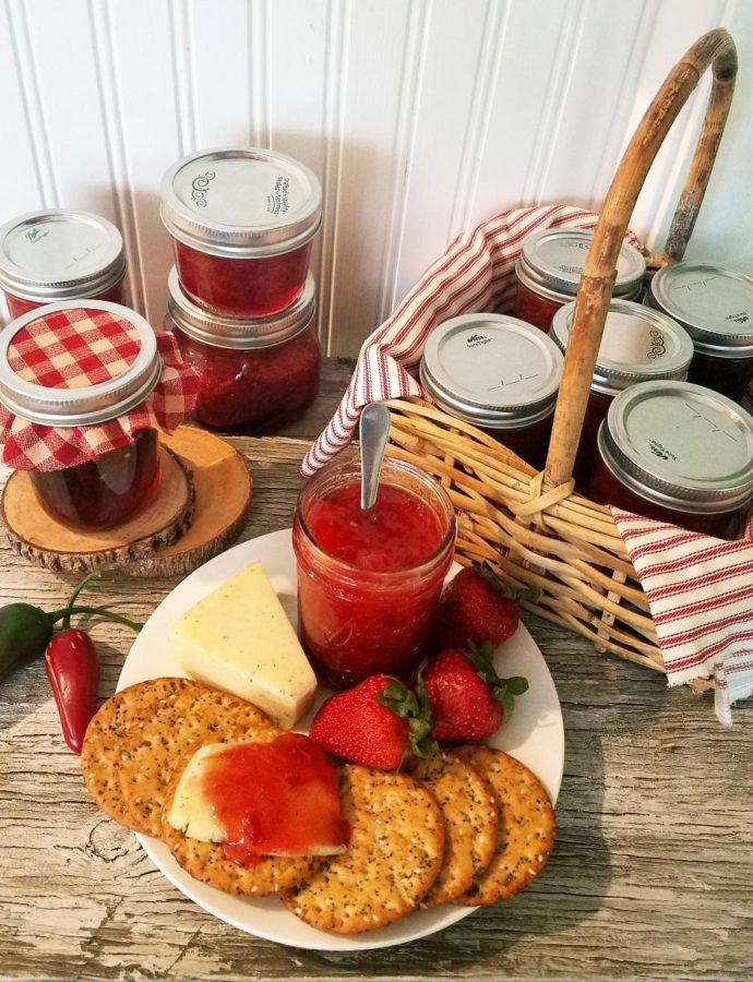 STRAWBERRY JALAPENO JAM & A CANNING PARTY