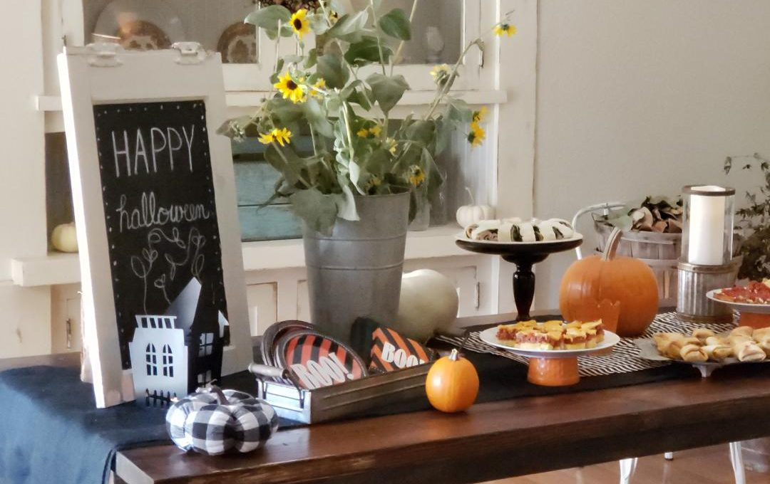 FALL-HALLOWEEN TABLESCAPE TOUR
