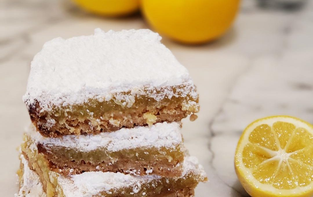 HOMEMADE LEMON BARS