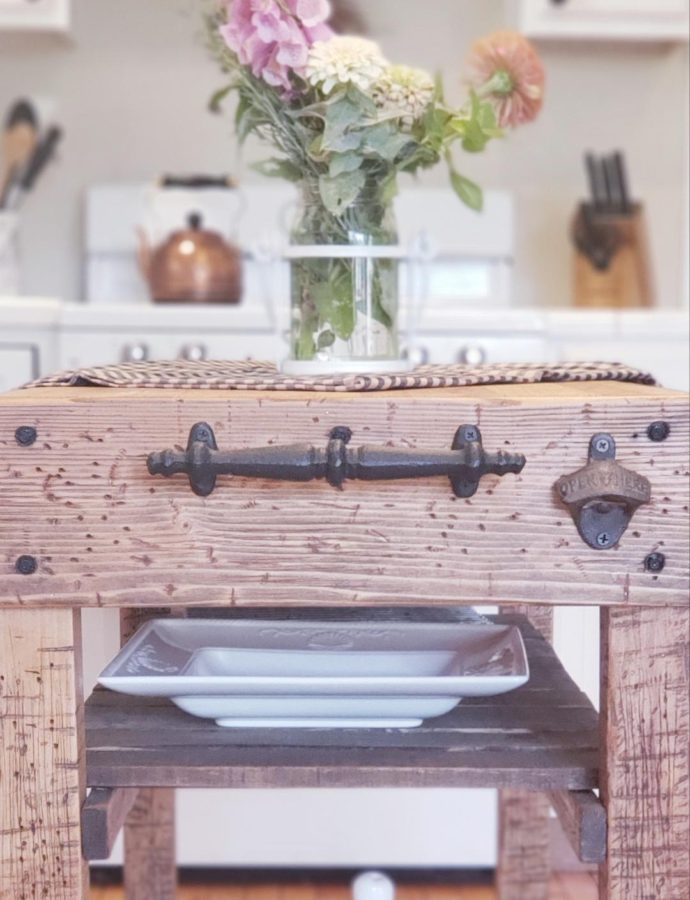 HOW TO REFURBISH A KITCHEN ISLAND