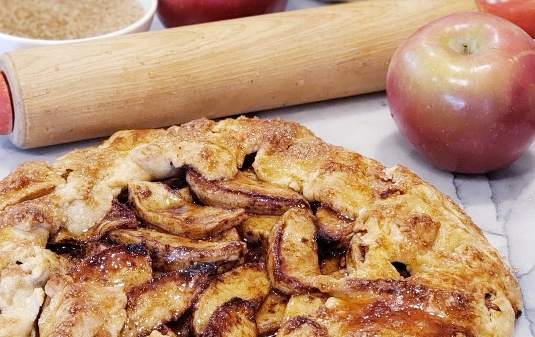 RUSTIC COUNTRY APPLE TART
