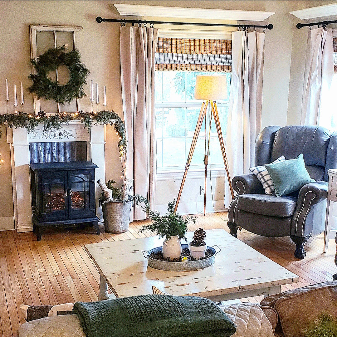 Wonderful Winter Livingroom